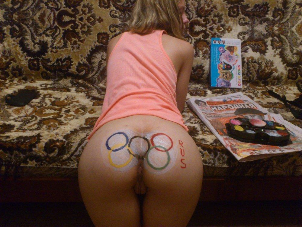 Вздрочнула свой анус перед олимпиадой в Сочи