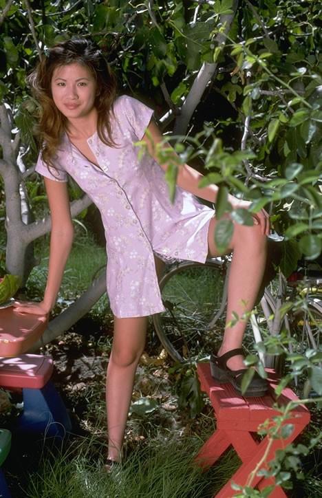 Дженнифер Ли любит фрукты