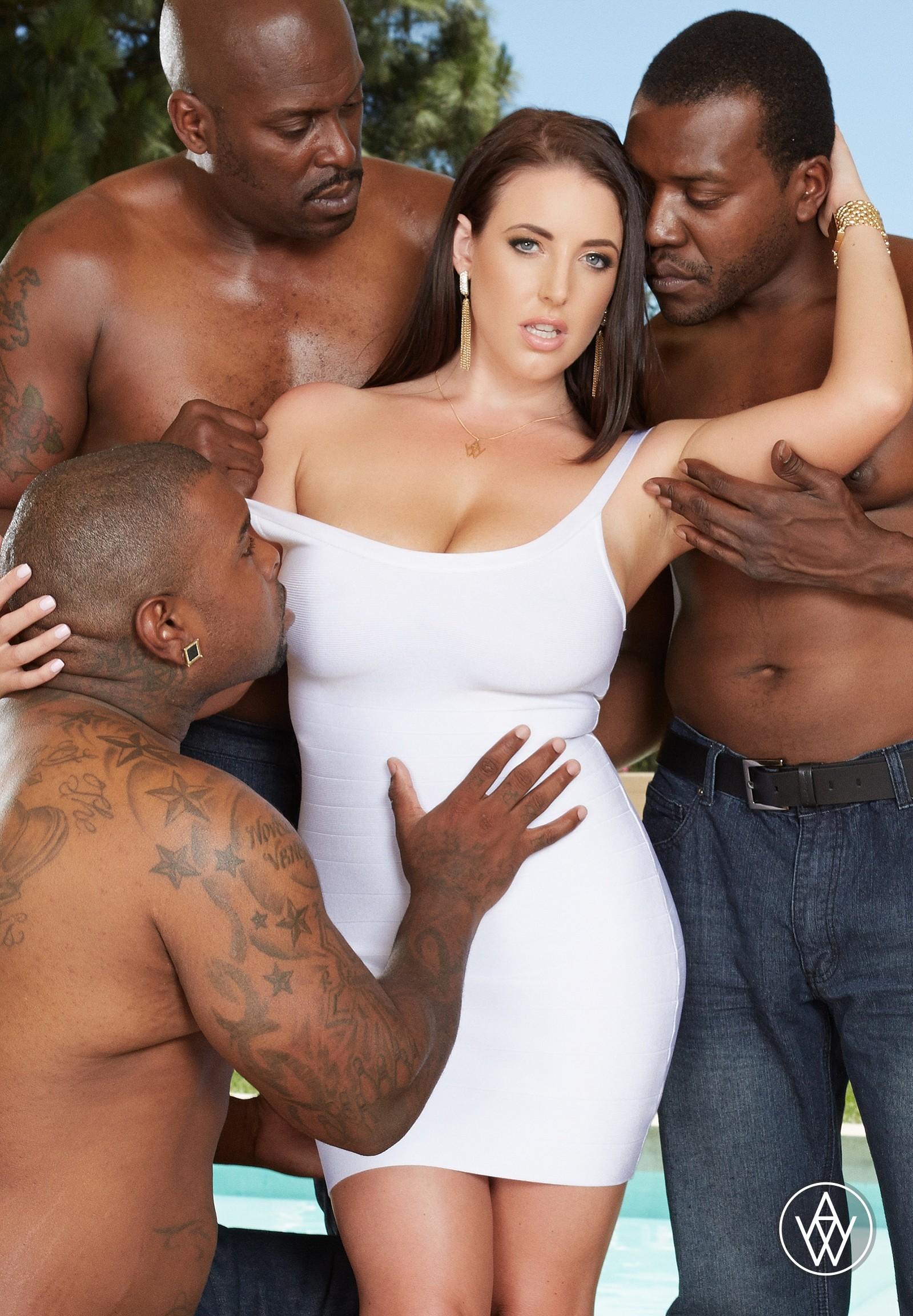 Межрассовый секс с австралийской порнозвездой