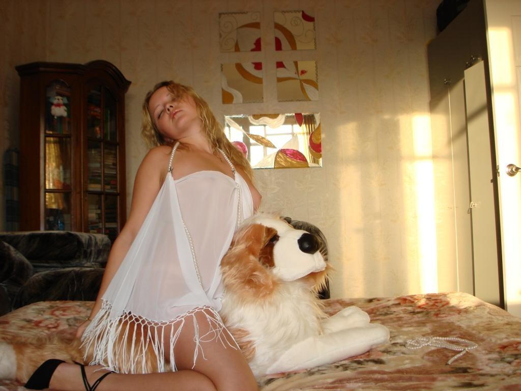 Селфи 34-летней блондинки